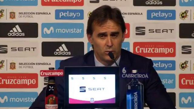 Lopetegui anuncia la lista oficial de la selección española para el Mundial de Rusia