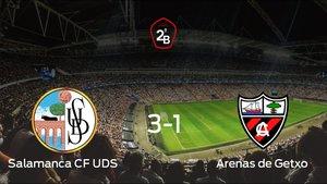 Los tres puntos se quedan en casa: Salamanca UDS 3-1 Arenas de Getxo