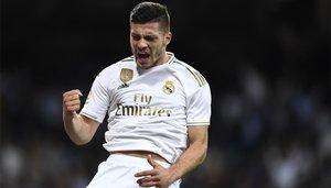 Luka Jovic podría estar a disposición de Zidane a partir del lunes
