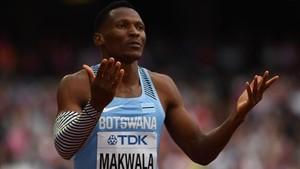 Makwala tendrá su oportunidad esta tarde tras serle negado su presencia en el 400