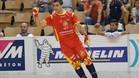 Marc Gual fue el máximo anotador del encuentro, con 'hat trick' incluido