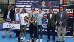 Marta Marrero y Ari Sánchez, las vigentes campeonas de Catalunya