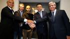 Mascherano firmó la renovación con el FC Barcelona