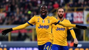 Matuidi cerró la cuenta de la Juventus