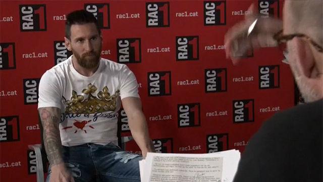 Messi:Mi idea y la de mi familia es acabar en Barcelona