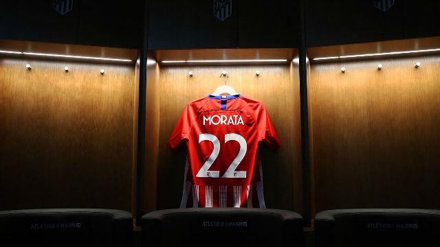Morata ya es jugador del Atlético de Madrid