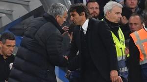 Mourinho y Conte llevan una larga lista de mutuas diatribas a lo largo del tiempo