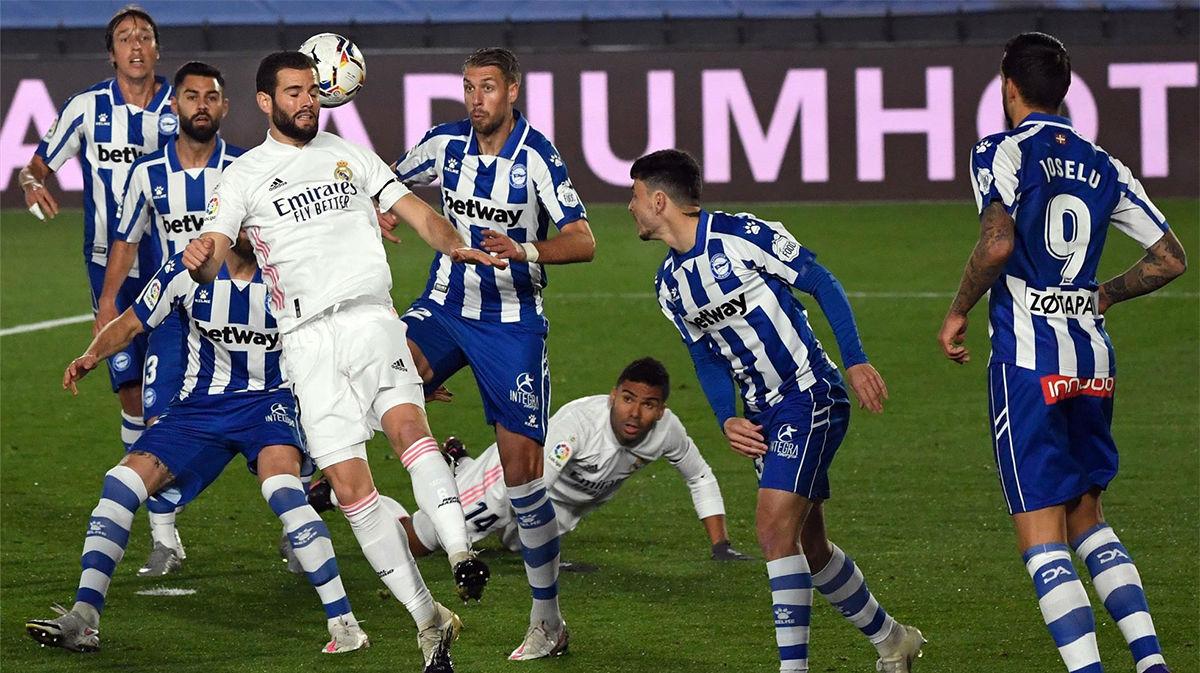 Nacho condenó al Madrid nada más comenzar el partido
