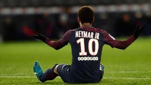 Neymar vuelve a París