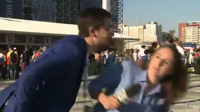 Nuevo intento de agresión a una periodista en el Mundial