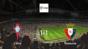 Osasuna claim draw vs Celta: 1-1 at Municipal de Balaidos