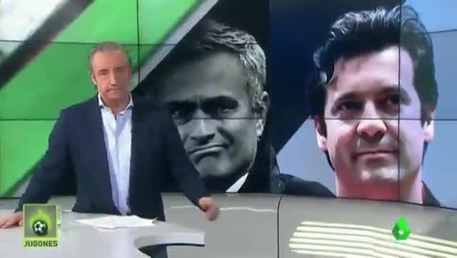 Pedrerol prefiere apostar por Solari antes que por Mourinho