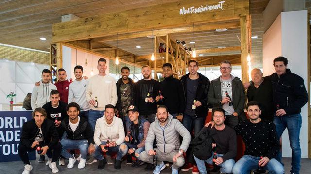 La plantilla del Girona no se ha perdido el World Padel Tour