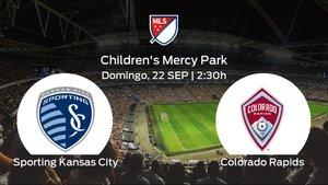 Previa del encuentro de la jornada 38: Sporting Kansas City contra Colorado Rapids