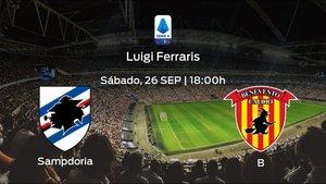 Previa del partido: Sampdoria - Benevento