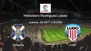 Previa del partido: el Tenerife recibe al Lugo