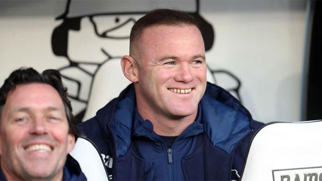 El Pride Park da la bienvenida a Wayne Rooney