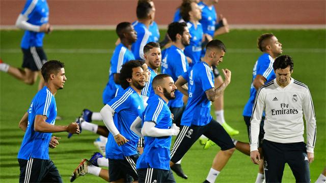 Primera toma de contacto del Real Madrid con Abu Dabi
