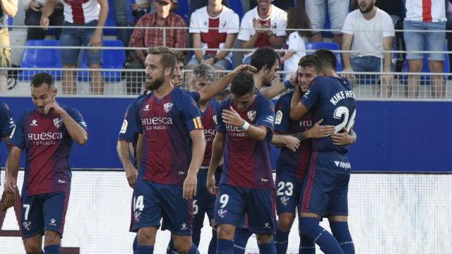 ¡Qué escándalo! Dani Raba demostró que el Huesca, en Segunda, sigue marcando goles de Primera