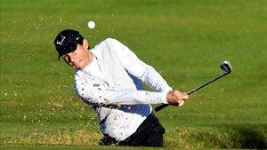 Rafa Nadal también domina en el campo de golf