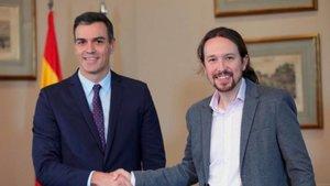 La reacción política al preacuerdo de gobierno entre PSOE y Unidas Podemos