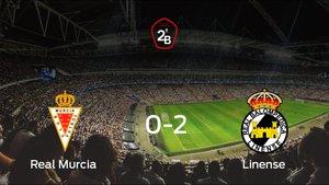 El Real Murcia pierde frente al Linense por 0-2