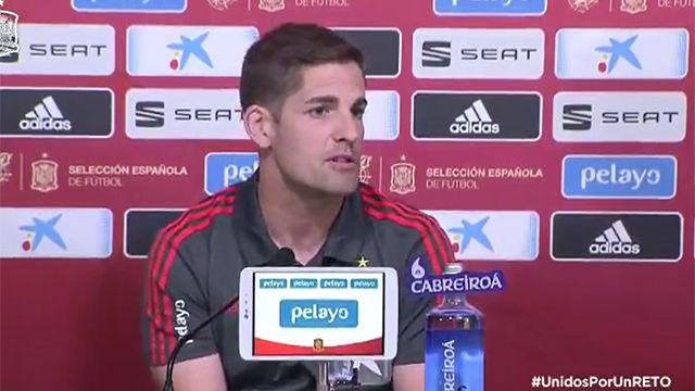 Robert Navarro habló sobre el papel de Luis Enrique en la Selección actualmente