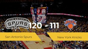 San Antonio Spurs gana su primer choque de la NBA ante New York Knicks por 120-111