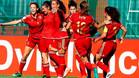 La selección española femenina terminó su trayectoria en el Mundial sub 20.