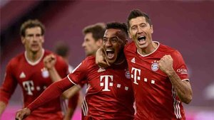 Sigue el Bayern Múnich - Eintracht Frankfurt