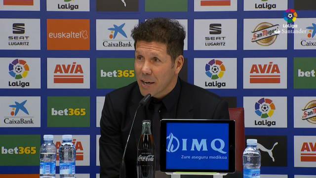 Simeone, sobre la colleja a Morata:  A mí me cayeron cuatro partidos