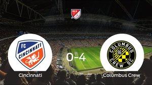 Sólido triunfo para el equipo de Columbus: Cincinnati 0-4 Columbus Crew