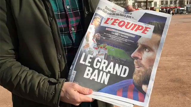 SPORT en Lyon: Así esperan en Francia al Barça