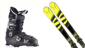 SPORT y Salomon sortean unos esquís modelo X-MAC X10 y unas botas X PRO 100