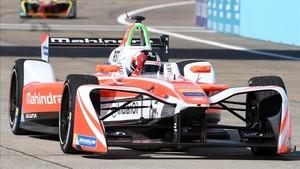 El sueco Felix Rosenqvist (Mahindra Racing)