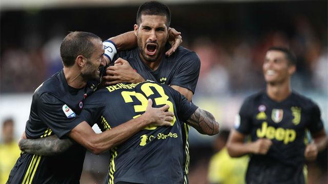 Sufrida victoria de la Juventus ante el Chievo en el debut de Cristiano