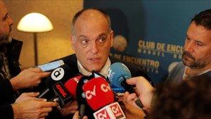 Tebas está muy molesto con Florentino Pérez