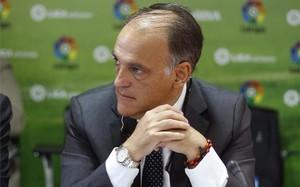 Tebas, presidente de la Liga de Fútbol Profesional