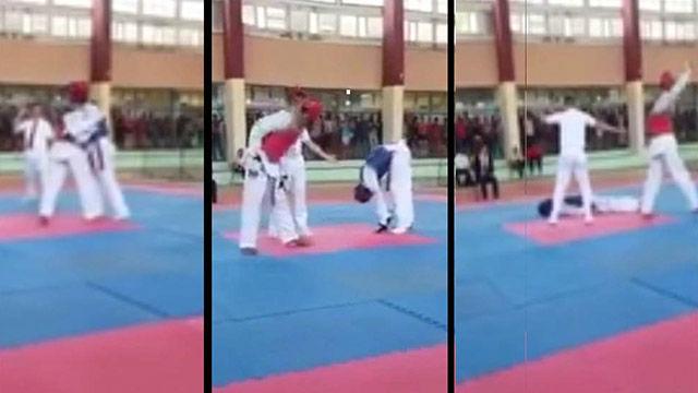 Tragedia con la muerte de un taekwondista en pleno combate