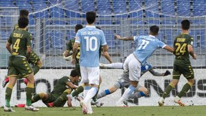 El Tucu Correa abrió el marcador ante el Brescia