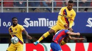 Umtiti y Semedo, dos de los futbolistas de color de la actual plantilla del Barça