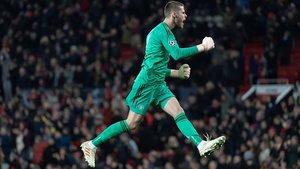 El United quiere blindar a De Gea convirtiéndole en el mejor pagado de la Premier