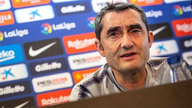 Valverde habla sobre los posibles refuerzos del Barça