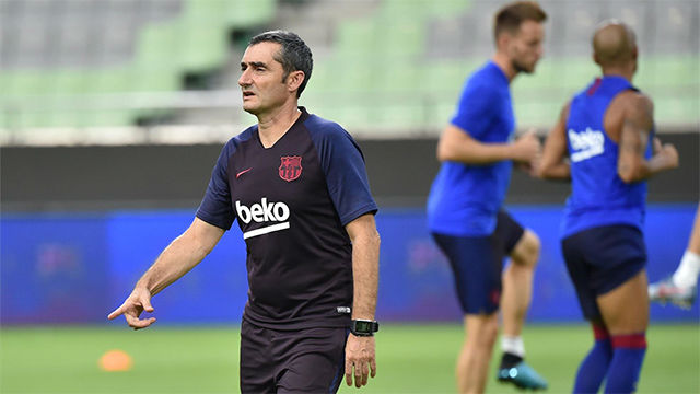 Valverde pide dos fichajes... y aligerar la plantilla ya
