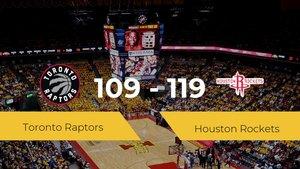 Victoria de Houston Rockets ante Toronto Raptors por 109-119