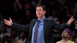 Walton, técnico de la NBA