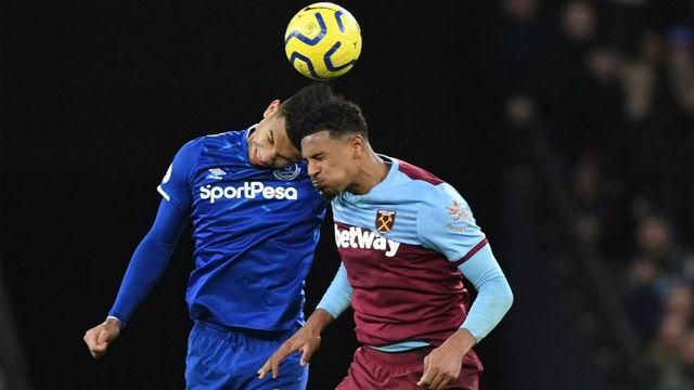 El West Ham frena la crecida del Everton