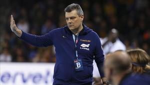 Xavi Pascual admite que fue un gran palo caer ante el Montpellier