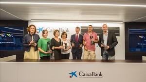 El acto ha sido presentado en la sede de CaixaBank