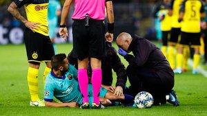 Alba se ha lesionado